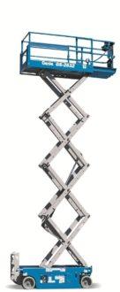 Gizo self-propelled scissor lifts Genie GS 2632