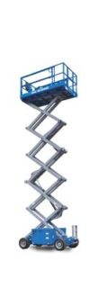Gizo Self-Propelled Scissor Lifts Genie GS 3369 DC
